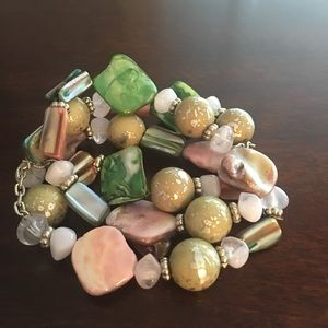 Jewelry - Fun & Flirty Triple Strand Bracelet